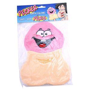 Pecker Bath Glove