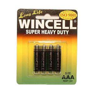 Wincell Aaa Super Heavy Duty Batteries